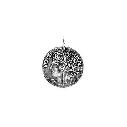 """""""Médaille Marianne"""" Charm"""
