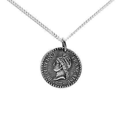 """""""Marianne Révolutionnaire"""" Necklace"""
