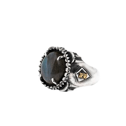 """L'Empereur P PM 18K"" Ring"