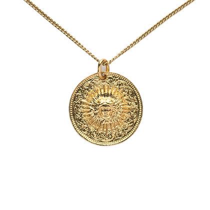 """""""Roi Soleil Vermeil"""" Necklace"""