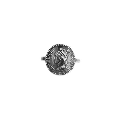 """ Marianne Révolutionnaire Martelée"" Ring"