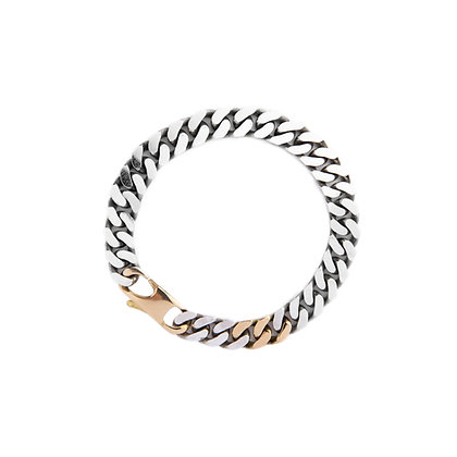 """ Cuban's Chain pm 18K"" Bracelet"
