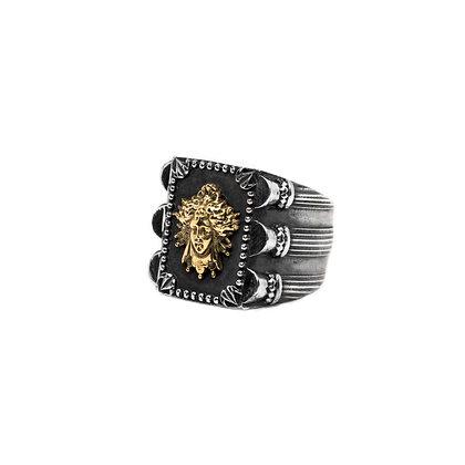 """Dark Médusa 18K"" Ring"