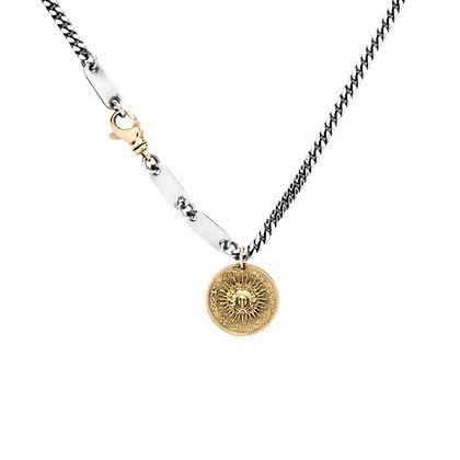 """Roi Soleil 18K"" Necklace"