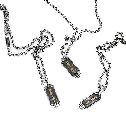 """Cartouche AD"" Necklace"