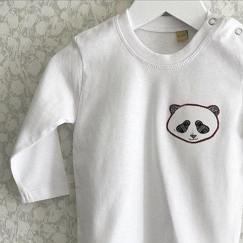 Rusty Panda Long Sleeved T-Shirt