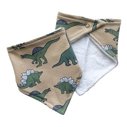 Dinosaur Bandana Dribble Bib