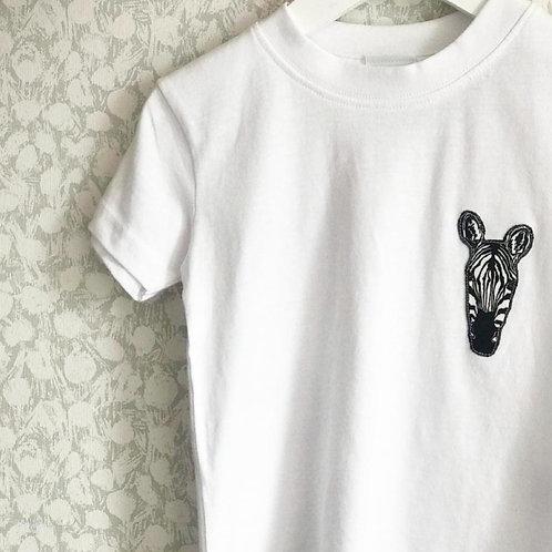 Cool Stripes Zebra Short Sleeved T-Shirt