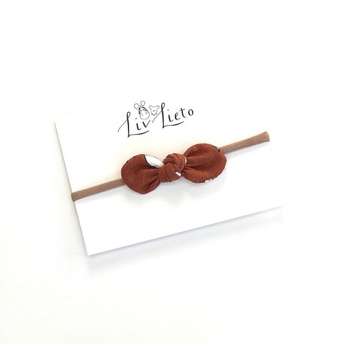 Rusty Panda Little Bow Headband