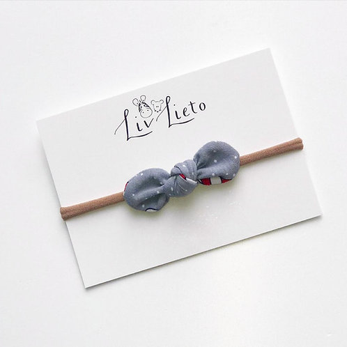 Candy Cane Little Bow Headband