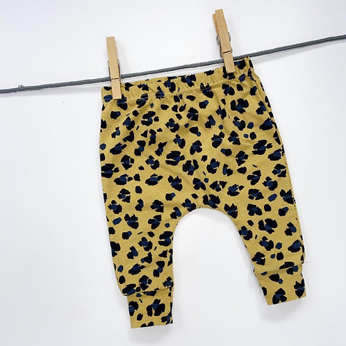 Leopard Print Harem Leggings