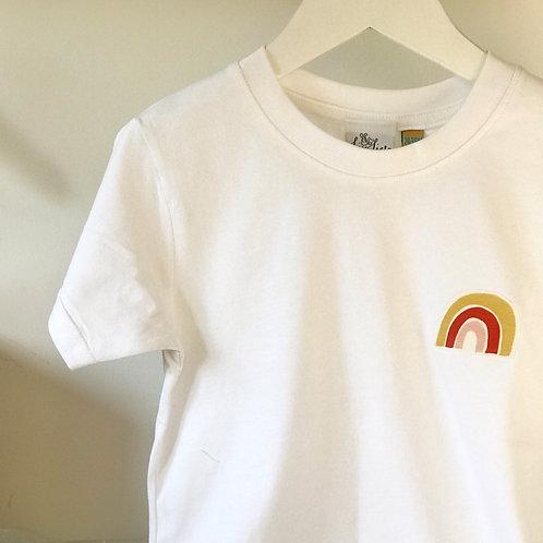 Rainbow Short Sleeved T-Shirt