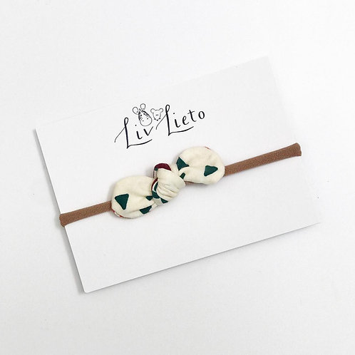 Alphabet Little Bow Headband