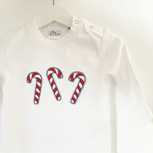 Candy Cane Long Sleeved T-Shirt