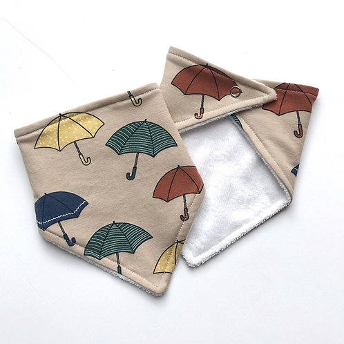 Umbrella Bandana Dribble Bib
