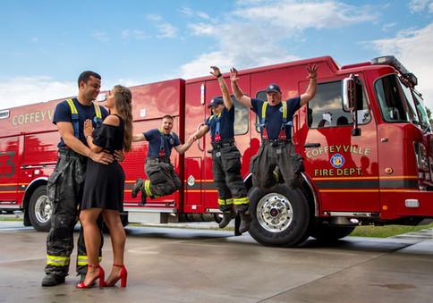firetruck engagement