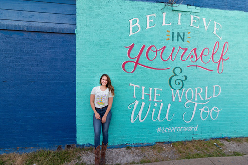 deep ellum senior photo