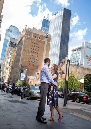 dallas downtown engagement