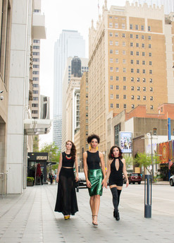 three models downtown dallas