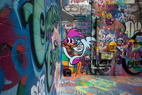 graffiti roadrunner
