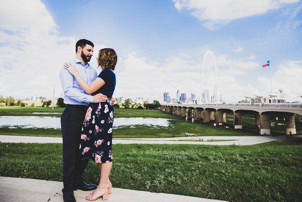 dallas skyline engagement
