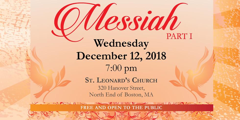 Handel's Messiah Part 1