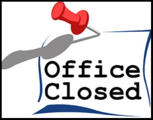 GFCC Office Closed on August 13 and 14, 2018