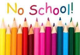 🍎 Reminder: No School on Wednesday, January 29, 2020