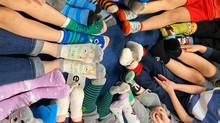 🍎 S is for Socks!  D is for Dinosaur!  A Look at Transitional Kindergarten Curriculum in January!