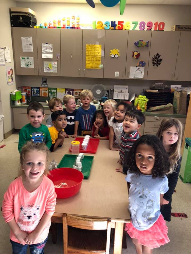 Scientist Day in the Crayon Classroom