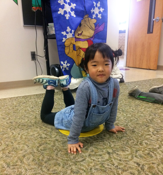 Moving, Stretching, and Grooving at GFCC