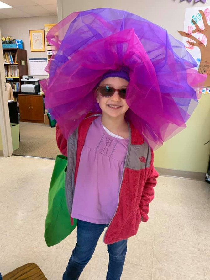 🧢👒⛑👑 Silly Hat Day Kicked Off Dr. Seuss Week at GFCC in March 2020 - Day One
