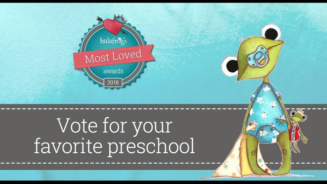 """VOTE for GFCC as """"Most Loved Preschool 2018"""""""