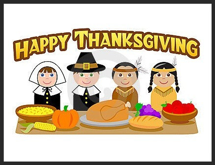 Happy Thanksgiving from GFCC