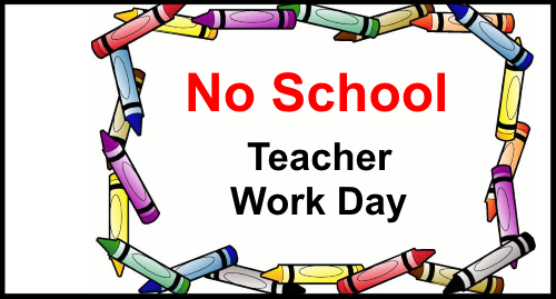 No School on Thursday, September 21, 2017