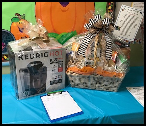 Baskets for Silent Auction Bids