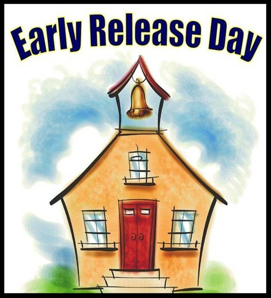 Reminder:  Today is an Early Release Day at 12:30