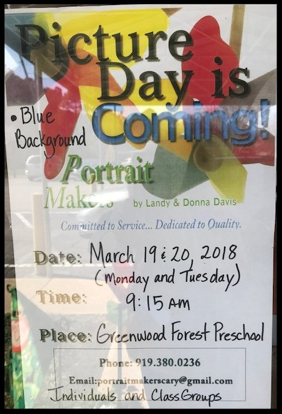 Smile and Say Cheese - Picture Days Are Coming to GFCC