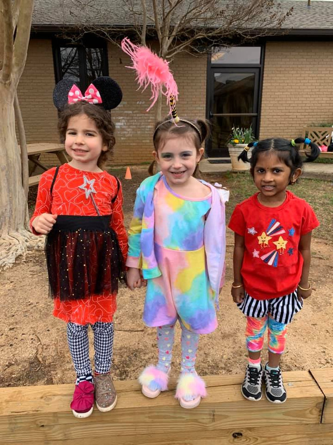 🤠 Wacky Tacky Wednesday!  Day 3 from Dr. Seuss Spirit Week in 2020!