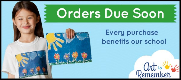 Art to Remember Orders Due Soon