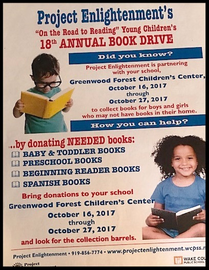 Book Drive for Project Enlightenment