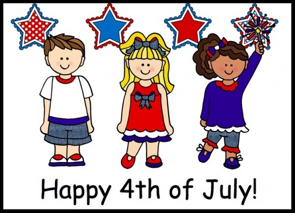Happy 4th of July from Greenwood Forest Children's Center