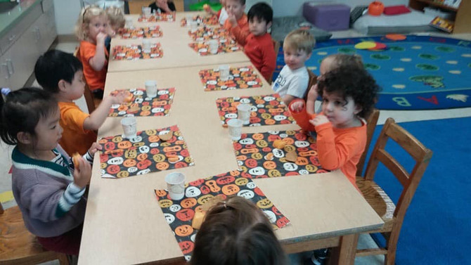 🍊🍎Orange Day in the Apples Class