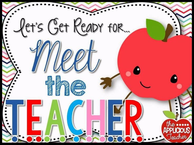 Countdown to Preschool -- Meet Your  Teachers on August 31 and September 1