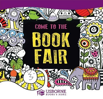 Come to the Usborne Book Fair and Support the Dr. Bill Jones Scholarship Fund