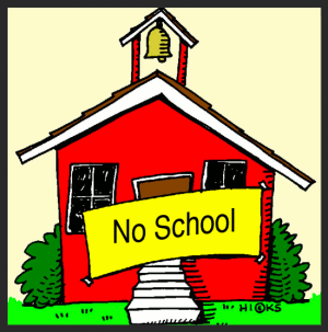 No School on Monday, October 10, 2016