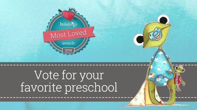 "We've Been Nominated for the ""Most Loved Preschool"" Award"