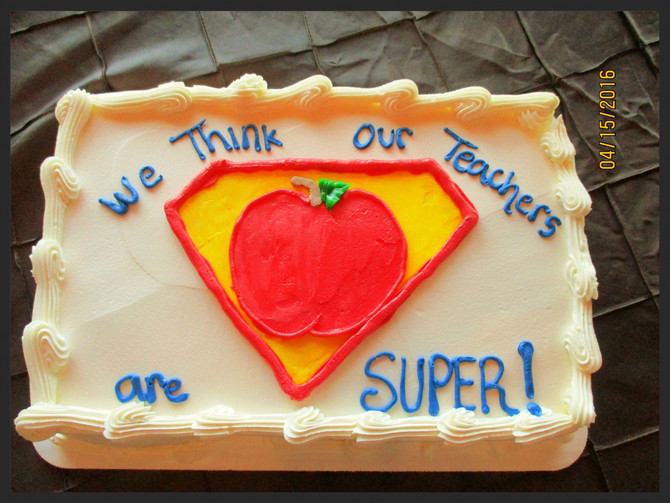 We Think Our Teachers Are SUPER!