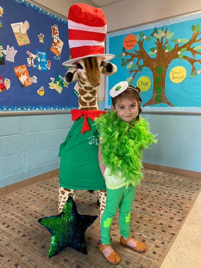 It's a Wrap! -- 🤩🧢 🦊🧦 🤠 ❤️🐟💙🐠 💚🍳 -- Day 5 of 2020's Dr. Seuss Spirit Week