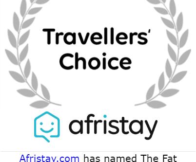 Travelers Choice Award